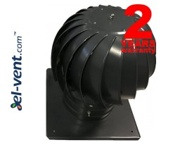 Rotating chimney cowls coated, with ball bearings TURBO-RAL
