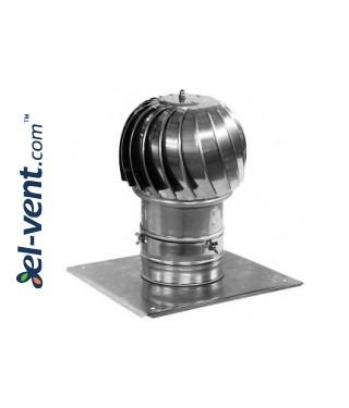 Rotating chimney cowl MINI-TURBO-100, Ø100 mm