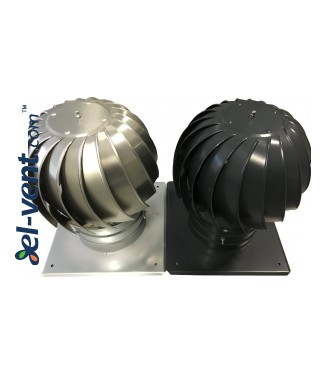 Rotating chimney cowl with ball bearings MINI-TURBO-100, Ø100 mm - Painted