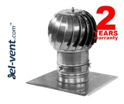 Rotating chimney cowls with ball bearings MINI-TURBO