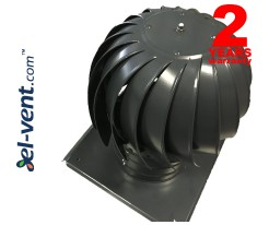 Rotating chimney cowls coated, with ball bearings MINI-TURBO-RAL