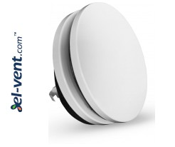 Insulated air diffuser DPN125, Ø125 mm