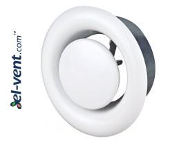 Air diffuser EDI160, Ø160 mm