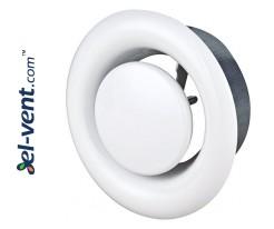 Air diffuser EDI250, Ø250 mm
