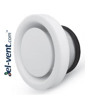 Insulated air diffuser DINN125, Ø125 mm