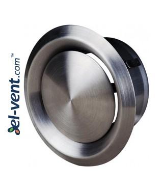 Stainless steel diffuser EDNU100,  Ø100 mm, Ø100 mm