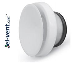 Insulated air diffuser DPNN100, Ø100 mm