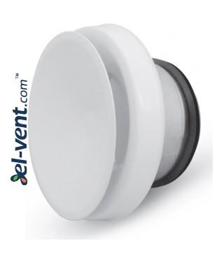 Insulated air diffuser DPNN125, Ø125 mm