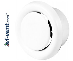 Ceiling diffusers, PVC