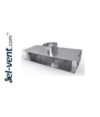 Plenum boxes for linear slotted diffusers PLDD