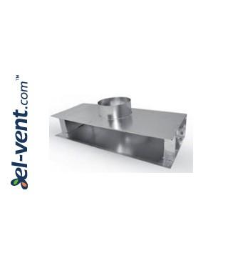 Plyšinių difuzorių pajungimo dėžės PLDD
