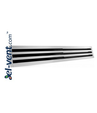 Aluminum linear slotted diffusers PLD