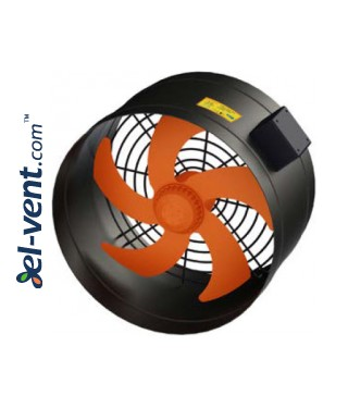 High performance external rotor axial duct fan EDRPKT150, Ø150 mm