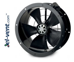 Axial duct fans