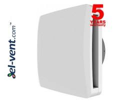 Vonios ventiliatorius su guoliais ir laikmačiu ALBA10/4T, Ø100 mm