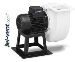 Išcentriniai ventiliatoriai su polipropileno korpusu CAA  ≤6500 m³/h