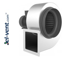 Centrifugal fans with stainless steel body CAI ≤1450 m³/h