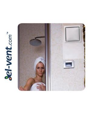Sumontuotas DIVERSO IN ventiliatorius vonios kambaryje
