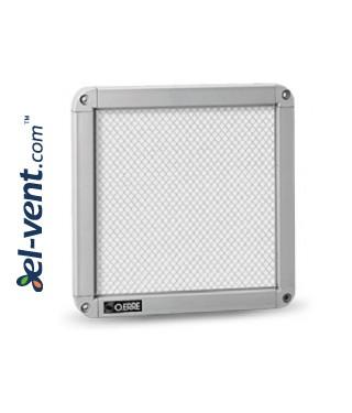 Apsauginės ventiliacijos grotelės GGA300, 424x424 mm