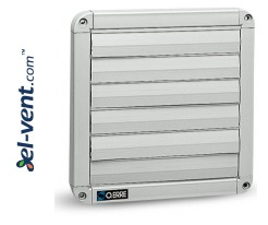 Gravity louvers GG400, 538x538 mm