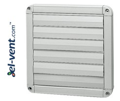 Gravity vent louvers GG