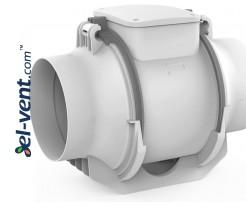 Kanalinis ventiliatorius LINEAR125, Ø125 mm