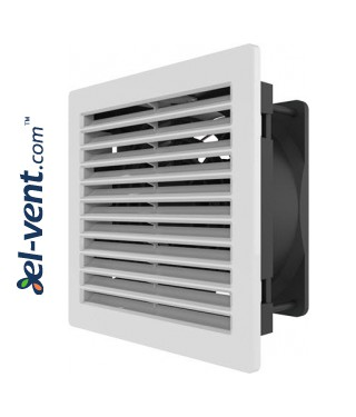 Elektros spintų ventiliatoriai RCQ 160.15 150x150 mm, 120 m3/h