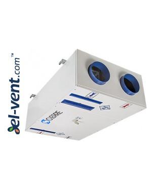 Quiet operation heat recovery unit Tempero ECO IL 550 E BP