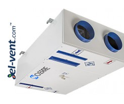 Quiet operation heat recovery unit Tempero ECO IL 250 E BP