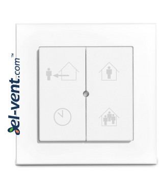 Heat recovery unit Tempero ECO IL 550 E BP wireless control panel