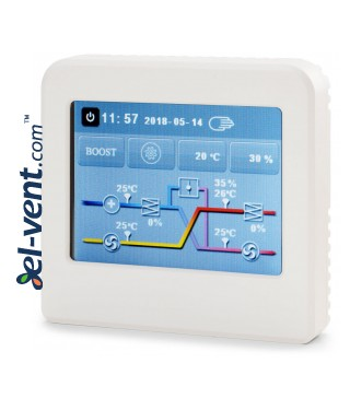 Heat recovery unit Oxygen X-Air - control panel