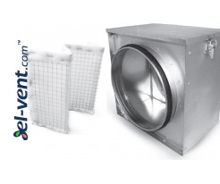 Air filters, filter boxes
