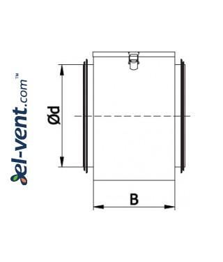 Air filter box OFD - drawing 2