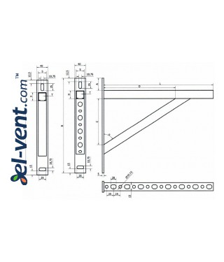 Triangle supports, 1