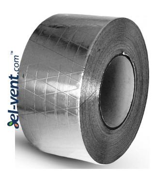 Adhesive tape (reinforced aluminium foil) AL50-50-ARM, 5cmx50m, 80 °C