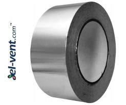Клейкая лента (алюминиевая) AL50-50-350, 5cмx50м, 350 °C