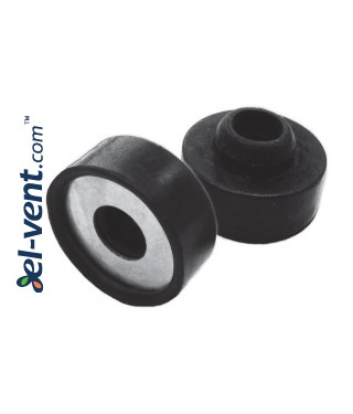 Vibration absorbers for ductwork Q-AMORT