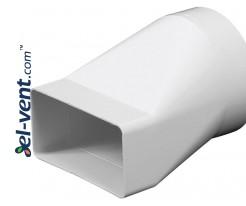Reducer EKO75-20, Ø125x75x150 mm
