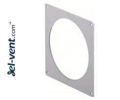 Wall duct adapter EKO125-27, Ø125 mm