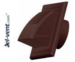 Exhaust vent cover EKO brown