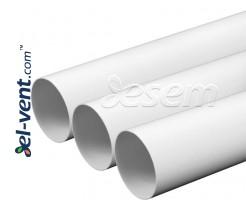Пластиковые круглые воздуховоды EKO