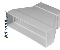 Reducer EKO204-29, 60x204/60x120 mm