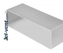 Соединитель для плоских воздуховодов EKO204-21 60x204 мм