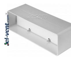 Пластиковый обратный клапан EKO204-22, 60x204 мм