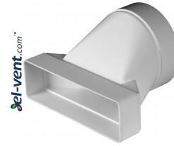 Reducer EKO204-20, Ø125x60x204 mm