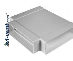T-piece EKO204-26, 60x204 mm