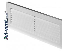 Ventiliacinės grotelės EKO204-30, 60x204 mm