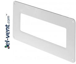 Wall duct adapter EKO204-27, 60x204 mm
