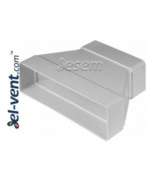 Plastikinio ortakio pereiga EKO-P-204-29, 60x120-60x204 mm