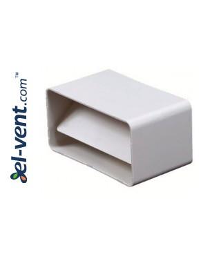 Plastic back draught damper EKO55-22, 55x110 mm